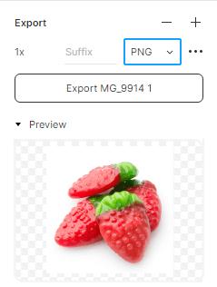 Как экспортировать изображения в разных форматах Figma