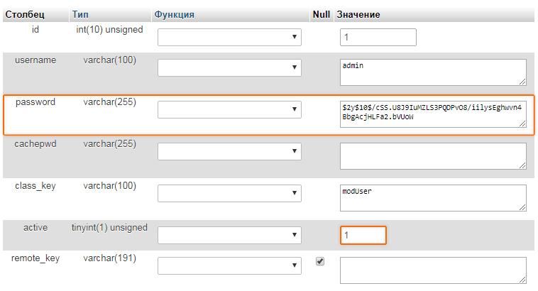 В MODX, пользователи хранятся в таблице modx_users
