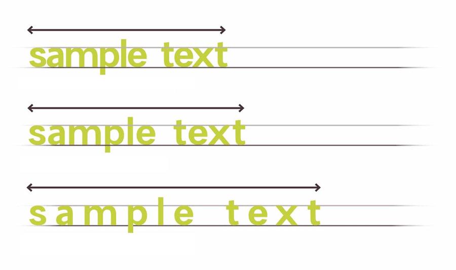 Расстояние между буквами, строками, ширина табуляции в CSS