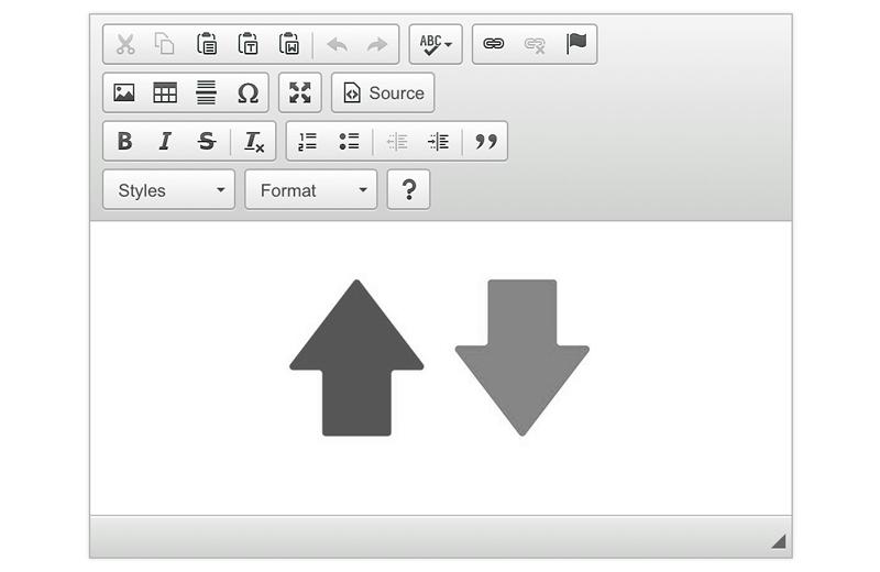 Автовысота редактора CKEditor