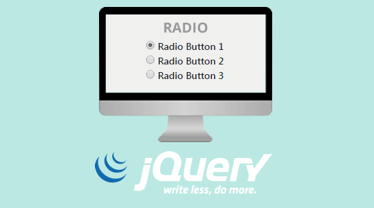 Работа с Radio Button в JQuery