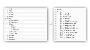 Поиск файлов в PHP