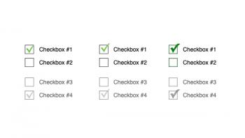 Стилизация Checkbox