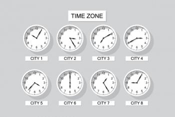 Часовые пояса в PHP