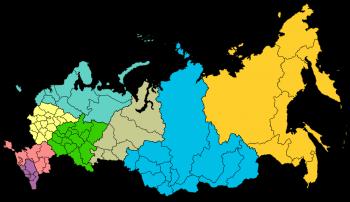 База городов, регионов и федеральных округов РФ в MySQL
