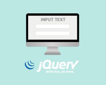 Работа с Input Text jQuery