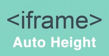 Автоматическое изменение высоты iframe по его содержимому