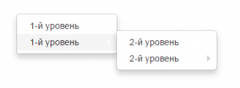 Подменю в dropdown Bootstrap