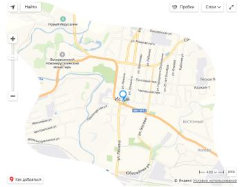 Яндекс карты не прямоугольной формы
