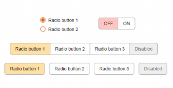 Стилизация Radio Button