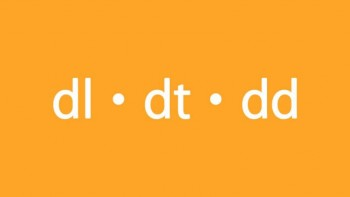 CSS-стили для списков dl, dt, dd