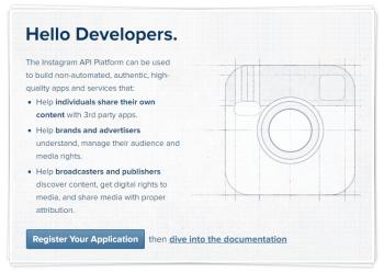 Работа с API Instagram