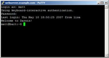 SSH, некоторые команды unix shell для хостинга