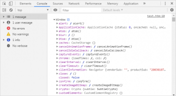 JS функции для консоли браузера