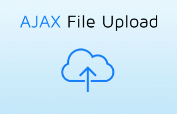 Загрузка файлов через jQuery AJAX