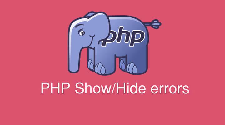 Управление выводом ошибок PHP