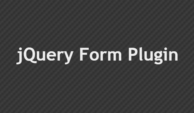 Загрузка файлов через AJAX с помощью jQuery Form Plugin
