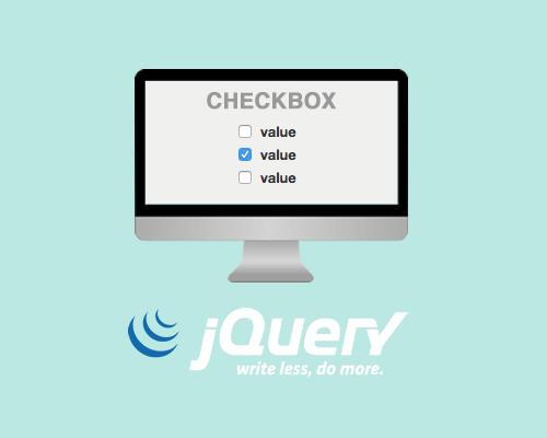 Работа с checkbox в JQuery