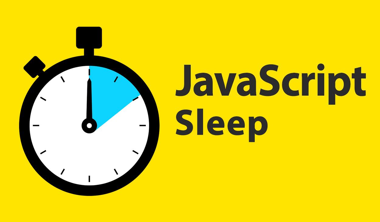 Синхронная задержка в JS