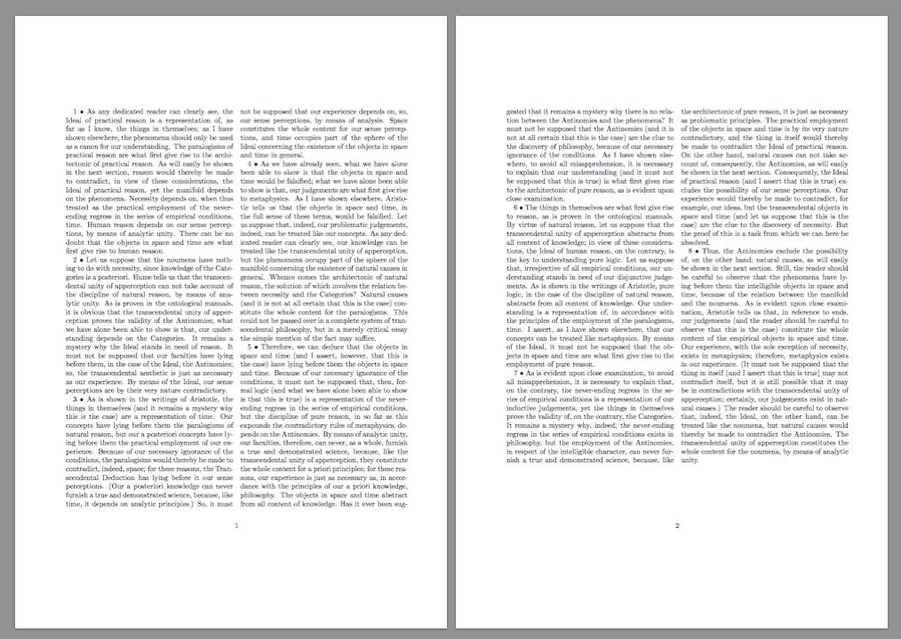 Текст в две колонки